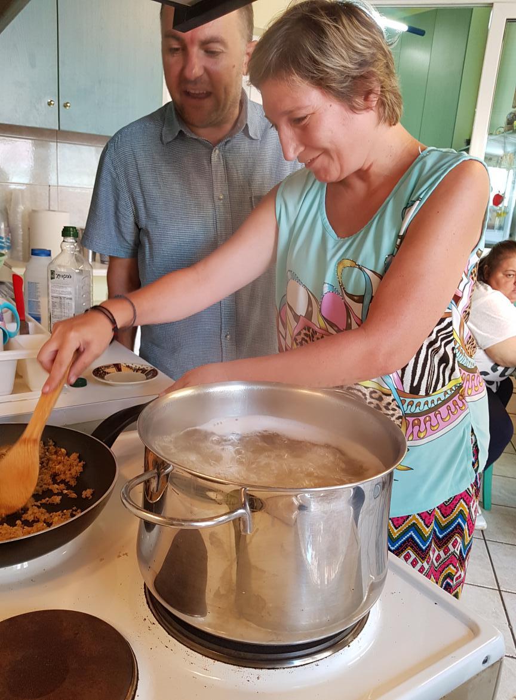 Μαγειρική στο ΚΔΗΦ Μέλισσαο ΚΔΗΦ Μέλισσα