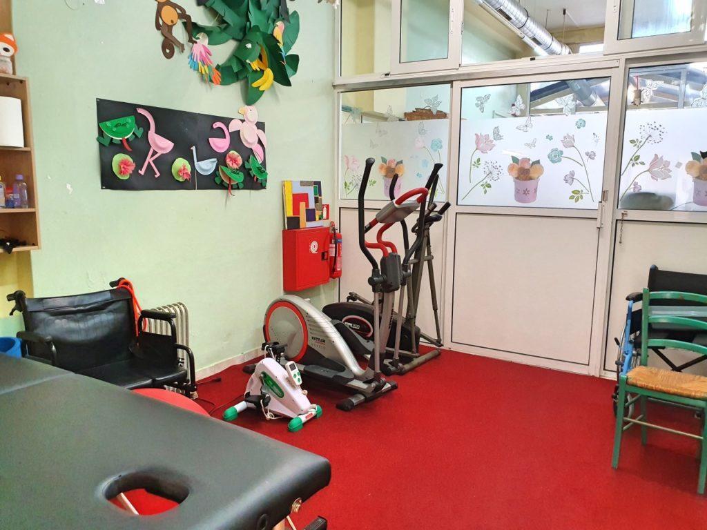 Ο χώρος Φυσικοθεραπείας